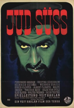 Movie poster for Jud Suss