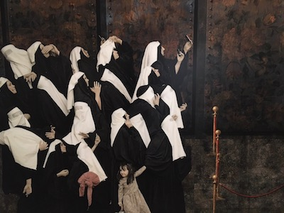 Siamak Shan, part of the Execution triptych, from his Underground series