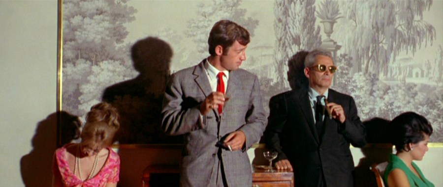 Sam Fuller in cameo appearance in Pierrot Le Fou