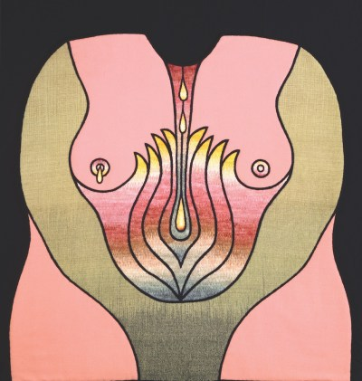 Judy Chicago, Birth Garment 2: Flowering Shrub