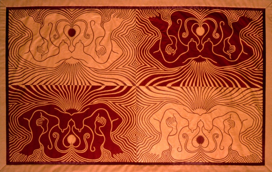 Judy Chicago, Crowning Quilt 5 of 9