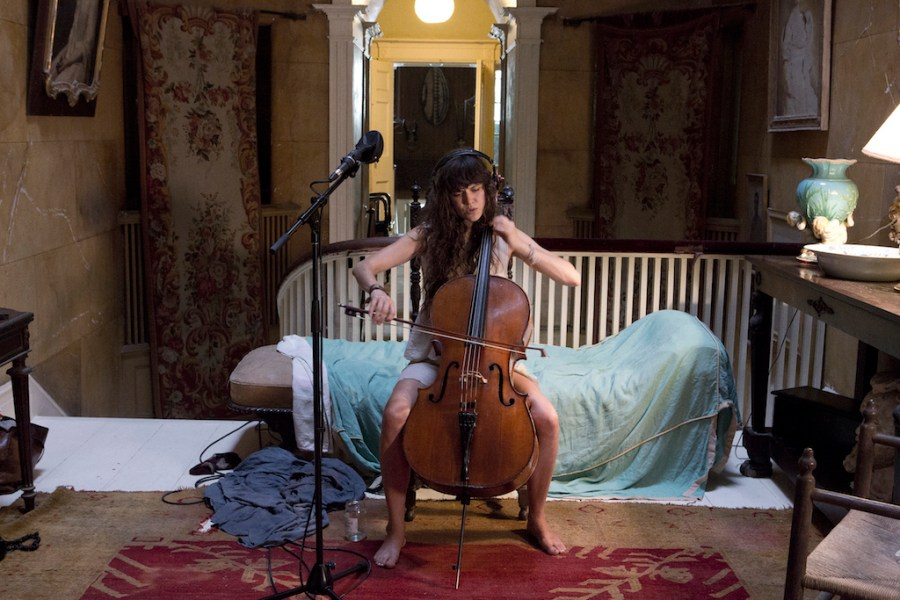 From Ragnar Kjartansson's The Visitors