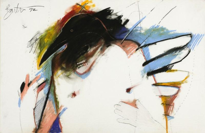 Rick Bartow, Crows Creation V