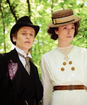 Denise Gough and Keira Knightleyin Colette (2018)