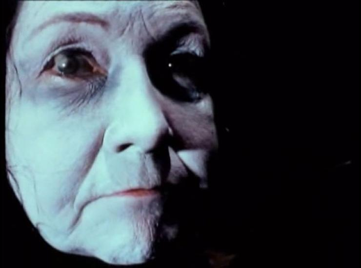 Dorothy McGinnis as Grandmother, in David Lynch's The Grandmother (1970)
