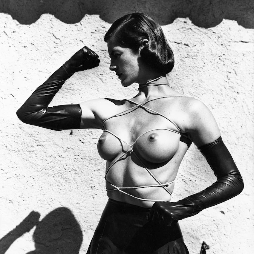Helmut Newton, Tied up Torso, Ramatuelle, 1980
