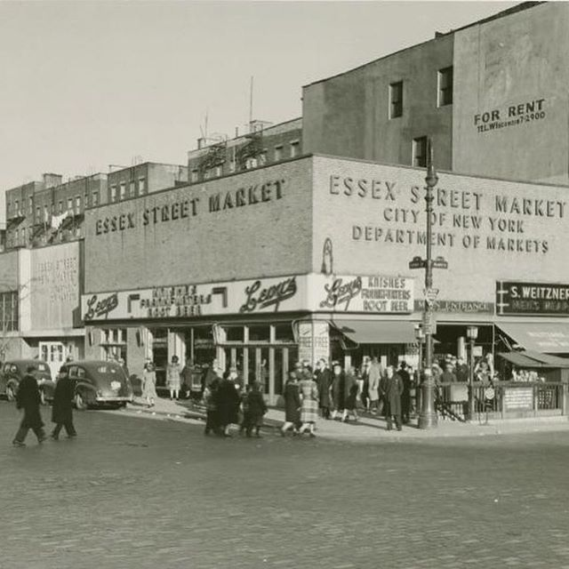 the old Essex Street market