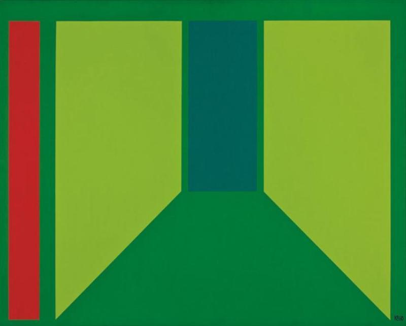 Corridor (1960)—Karl Benjamin