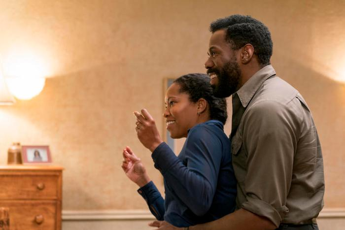 Regina King and Colman Domingo in If Beale Street Could Talk, reviewed at Riot Material magazine