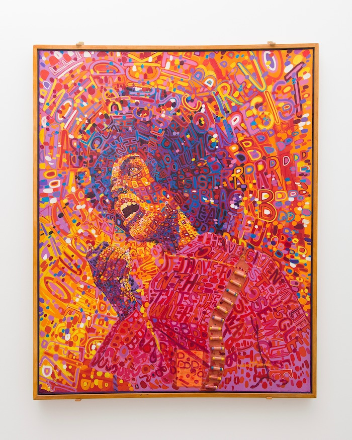 Wadsworth Jarrell's Revolutionary (Angela Davis), 1971