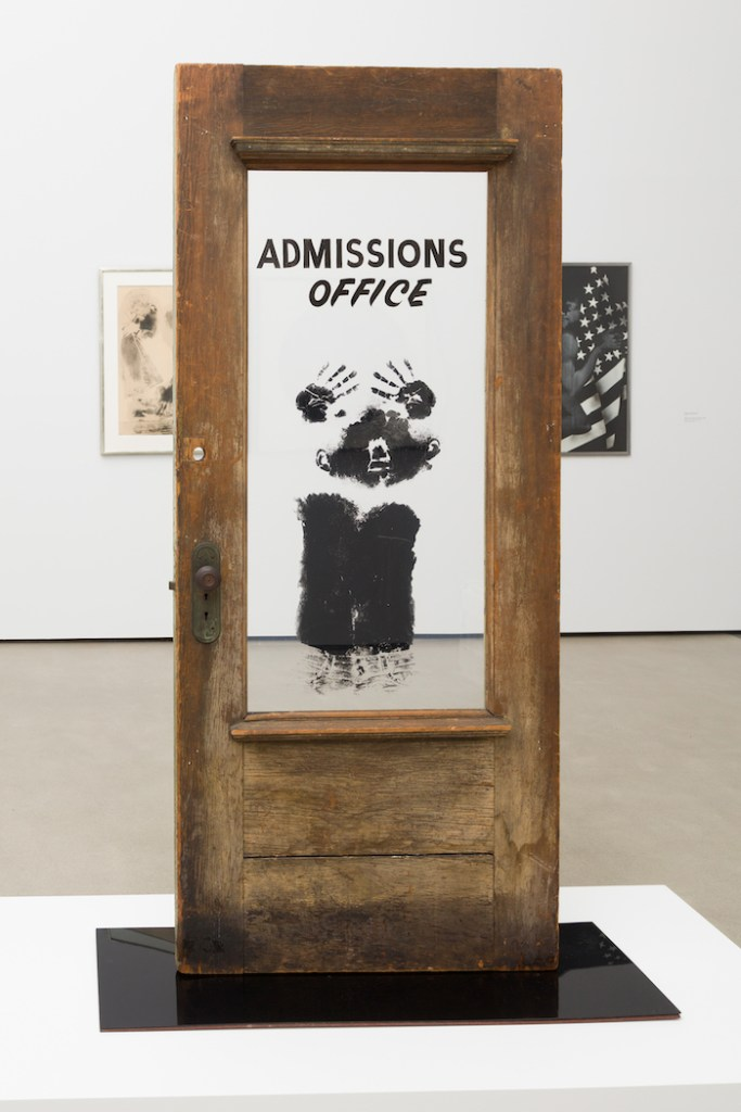 David Hammons, The Door (Admissions Office), 1969