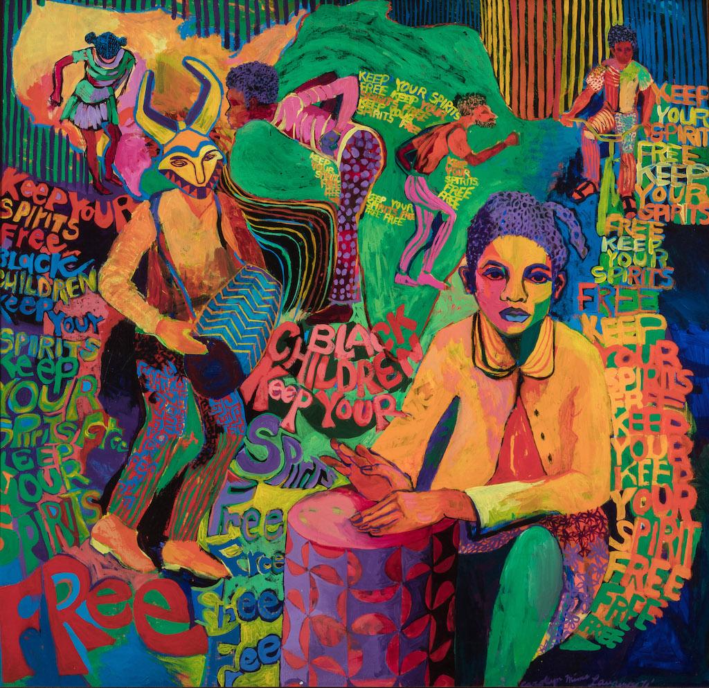 Carolyn Lawrence's Black Children Keep Your Spirits Free, 1972
