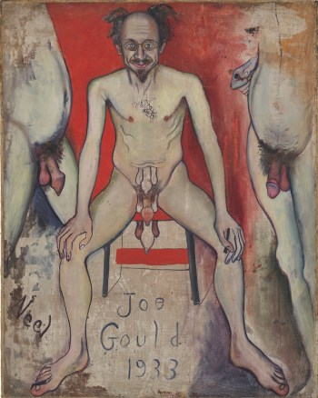 Joe Gould, 1933. Alice Neel: Freedom, reviewed at Riot Material Magazine.