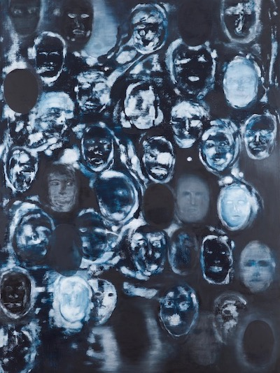 """Ross Bleckner's """"Burnt Offerings,"""" at Petzel Gallery NYC, is reviewed at Riot Material, LA's premier art magazine."""