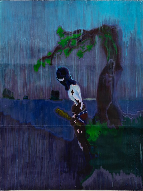 Sedrick Chisom, The Anguished Nativity of A Confederate Diver Under The Juniper Trees of Monument Valley. Reviewed at Riot Material Magazine.