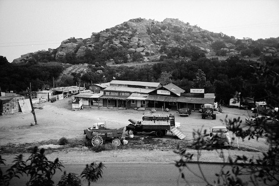 Spahn Ranch, as mentioned in a review of Tarantino's Once Upon a Time in...Hollywood
