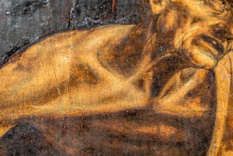 "Leonardo da Vinci's ""Saint Jerome Praying in the Wilderness"""