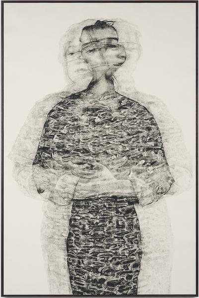 Artist Kenturah Davis in Punch, at Jeffrey Deitch, Los Angeles. Reviewed at Riot Material magazine.