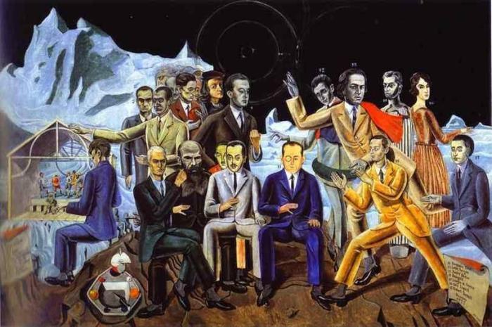 Max Ernst, A Friends' Reunion