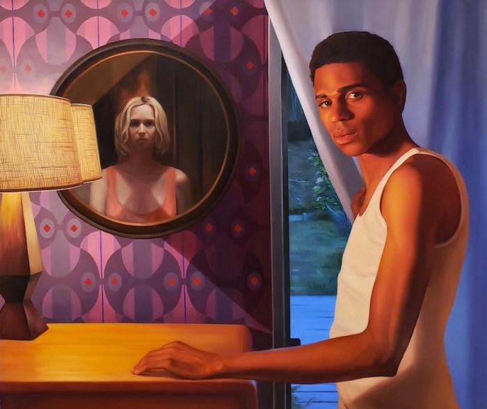Between Us. Laura Krifka's latest exhibition at La Luz de Jesus is reviewed at Riot Material, LA's premier art magazine.