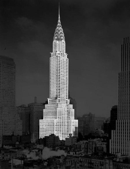 Chrysler Building, New York City, New York, USA, Detroit Publishing Company, 1930