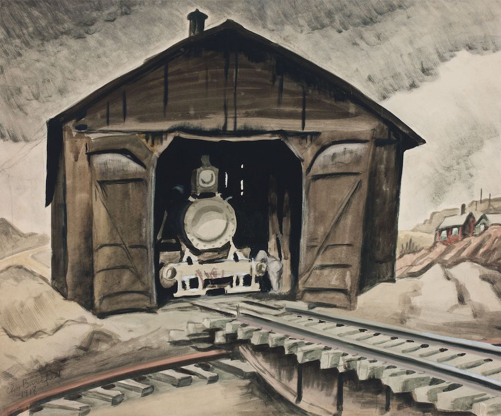 Charles Burchfield, Solitude, at DC Moore, is reviewed at Riot Material magazine.