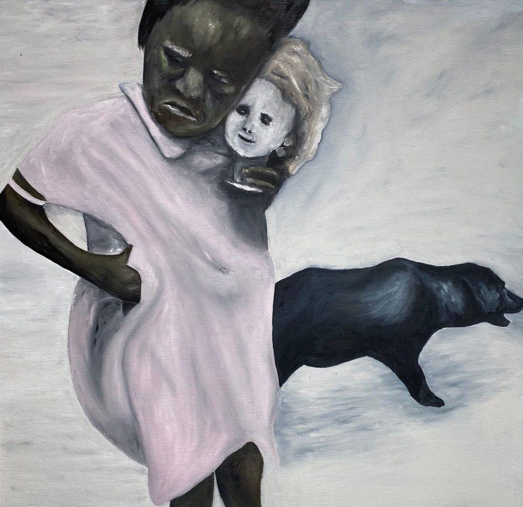 "C von Hassett, ""Agni."" C von's solo exhibition at Mash Gallery, DTLA, is reviewed at Riot Matrial magazine, LA's premier art magazine."