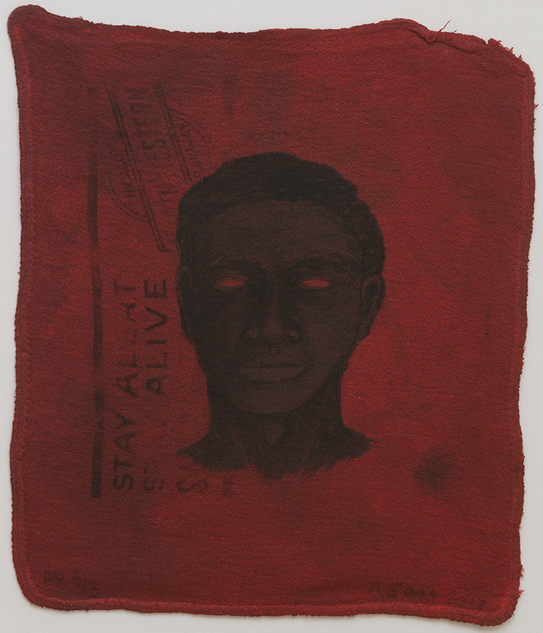 Alison Saar, Coal Black Blues, 2017