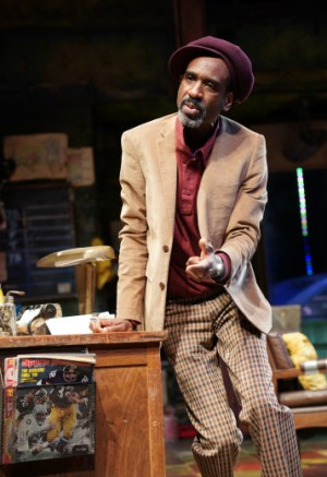 Brian D. Coats in August Wilson's Jitney