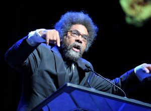 Dr. Cornel West and his Black Prophetic Fire speech at Town Hall Seattle.