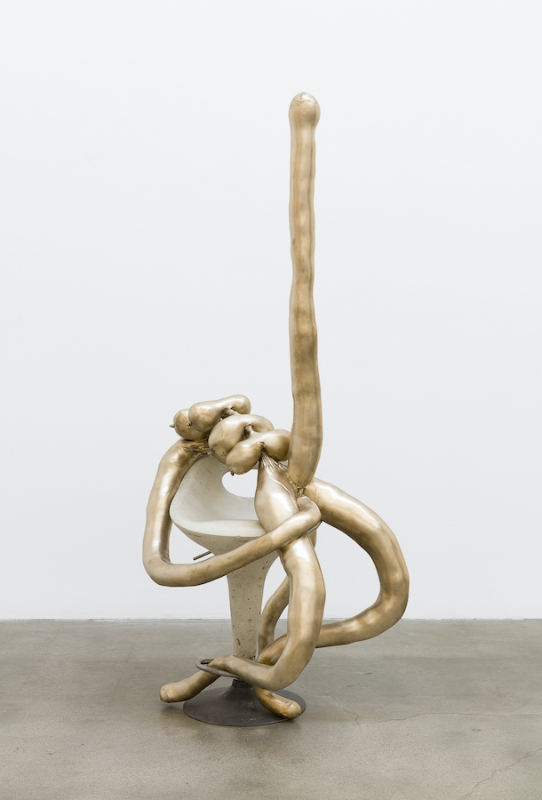 Sarah Lucas Elf Warrior, 2018