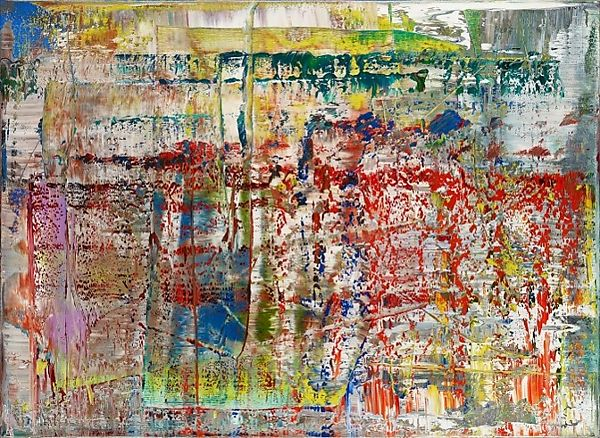 Gerhard Richter, Abstract Painting (1990), at Riot Material