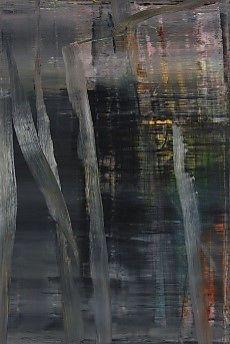 Gerhard Richter, Forest (1) 2005, at Riot Material