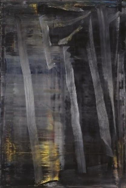 Gerhard Richter, Forest (3) 2005, at Riot Material