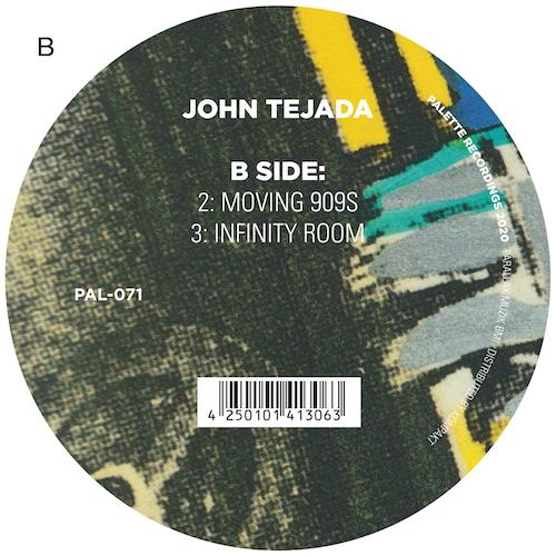 John Tejada, Moving 909s title track, listen at Riot Material Magazine.