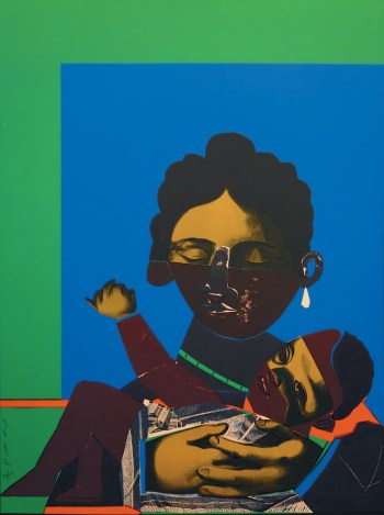 "Mother and Child. Two books on Romare Bearden, ""An American Odyssey: The Life and Work of Romare Bearden"" and ""The Romare Bearden Reader"" are reviewed at Riot Material Magazine"