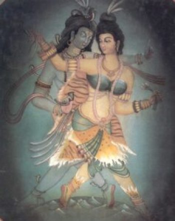 Kama, here depicted in the dance of procreation