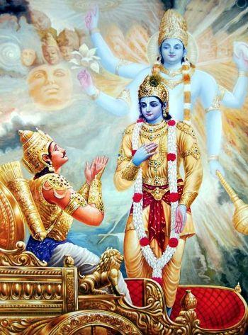 freedom through renunciation in the Bhagavad Gita