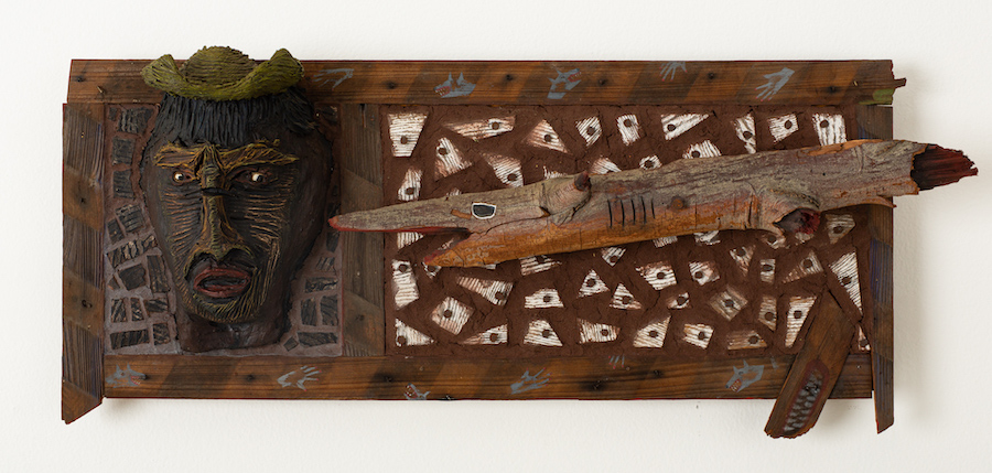 Rhonda Saboff / Parker Pine Shark IDtack!, 1993