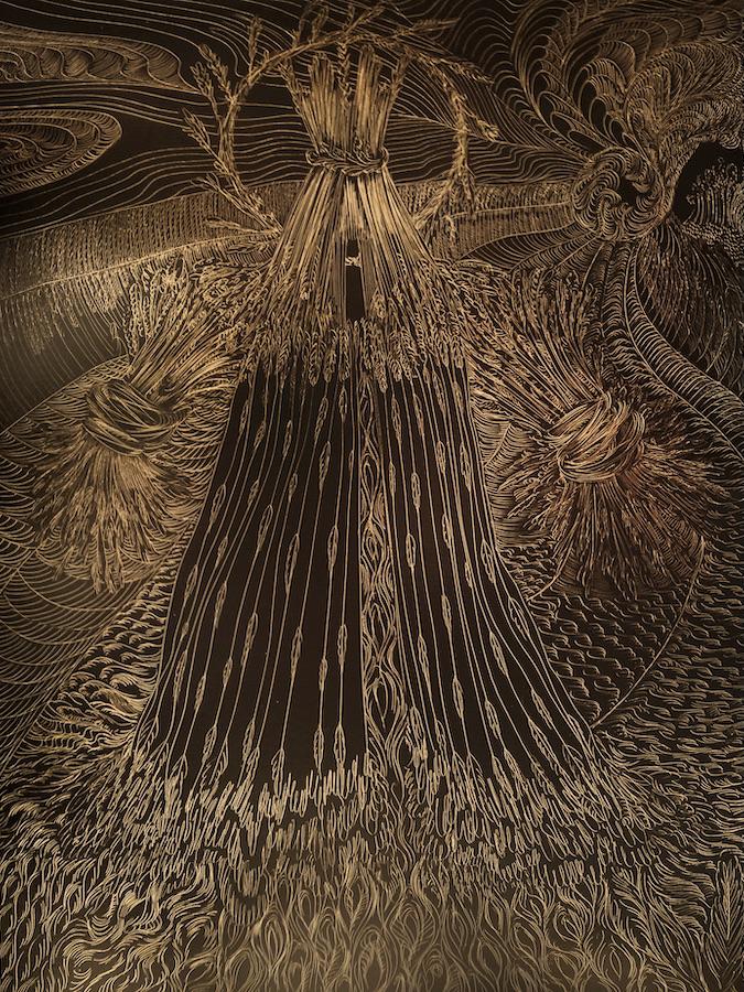 Cathy Ward, Corn Maiden I (2015)