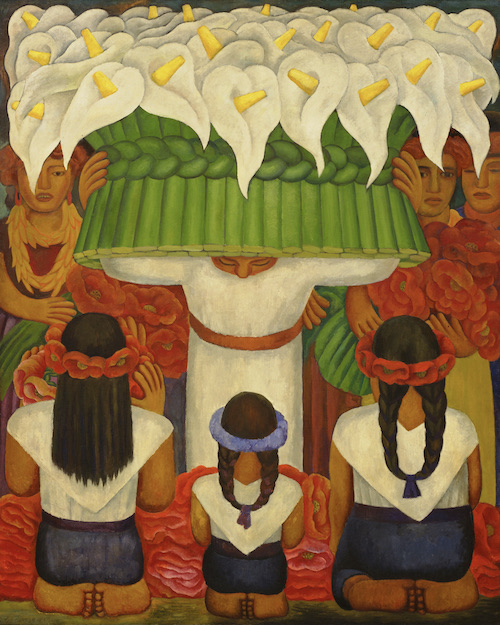 Diego Rivera Flower Festival Feast of Santa Anita, 1931