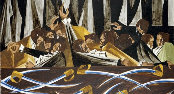 A review of Jacob Lawrence: The American Struggle, is at Riot Material Magazine