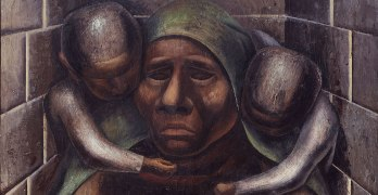 David Alfaro Siqueiros Proletarian Mother (detail), 1929