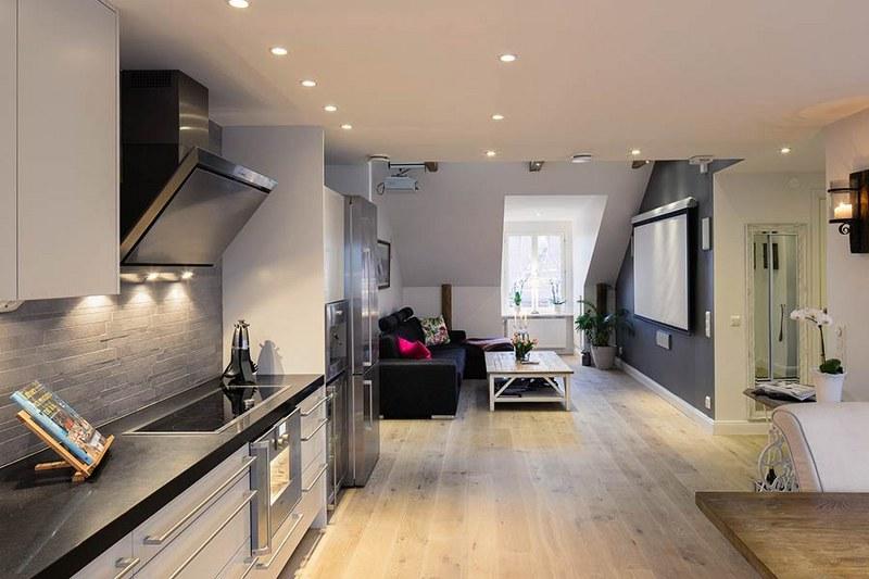 Se si sceglie una cucina soggiorno, ci sono anche notevoli vantaggi dal punto di vista pratico. Come Arredare Una Cucina Soggiorno Piccola Ma Di Design Rio Torsero Web