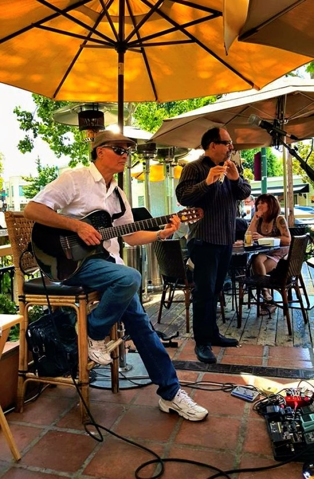 Tonight Rolando Morales with Bob Harrison at Maria, Maria Cantina, 710 Camino Ramon Road, Danville CA,
