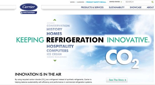 Clean Recycled CO2 Refrigeration sold in Europe