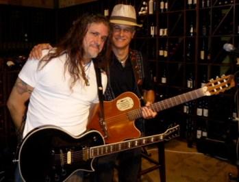 Carlos Hernandez with Rolando Morales