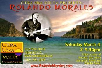 Rolando Morales and the romance of true Italian food and the atmosphere at C'era Una Volta