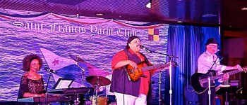 Carlos Reyes, Janice Maxie-Reid and Rolando Morales at Fundraising Concert