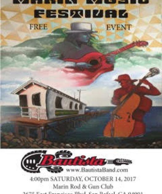 Join Bautista Band at 5pm this Saturday